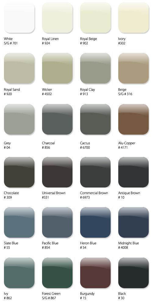 Soffit Fascia Colours Metalworks Canada